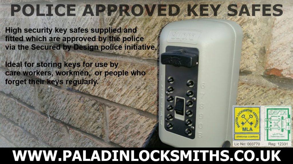 Police Approved Key Safes